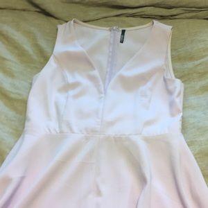 Lulu lavender midi dress